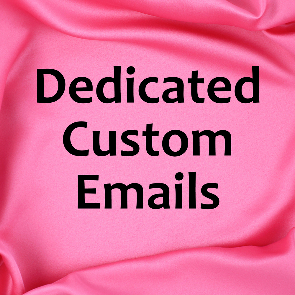Threads Dedicated Custom Emails
